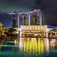 """31-3★モルディブからの帰り道《シンガポール》で♪""""魅惑の光と水の新しいショー""""♪{SPECTRA}を楽しむ♪☆ザ・フラトンベイ(プレミアベイビュールーム)&JWマリオットサウスビーチ『シンガポール編』★夫婦旅"""