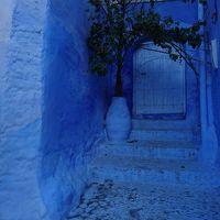青い町シャウエン到着;フェズから4時間:リフ山脈北麓&翌日早朝白壁の街:世界遺産ティトウアンに