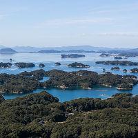 春が来た九十九島で遊覧船