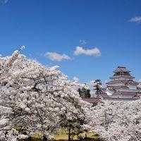 【日本100名城&さくら名所100選】1,000本もの桜に彩られた赤瓦の名城 <鶴ヶ城登城記>