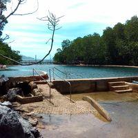 コロン島の海水温泉