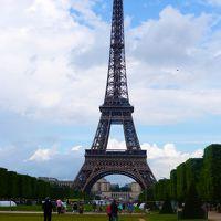 母娘ふたりフランス旅 �〜エッフェル塔・凱旋門パリ街歩き