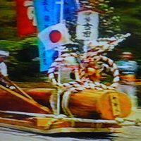 1987年(昭和62年)5月蒲郡 伊良湖岬 鳥羽(菅島) 伊勢(内宮(第61回式年遷宮御木曳行事) 外宮) 松坂(城址)の旅