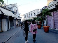 2016.12ジブラルタル海峡への遠い道15-タンジェ旧市内近くを街歩き,グランソッコの時計塔,ガスパ門