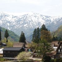 2017GWは、春の富山へ雪と花めぐりの旅!「日本の原風景!相倉合掌造り集落へ」
