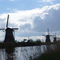 春のオランダ Day5 キンデルダイクの風車群とデルフト散策