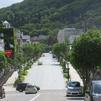 函館市街とトラピスチヌ修道院と恵山岬