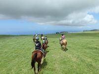 三世代で行くハワイ島の旅 【5日目〜6日目 カフア牧場にて乗馬〜帰国】