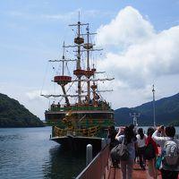 箱根あじさい三昧の翌日は芦ノ湖畔へ@ ケーブルカーやロープウェイで箱根観光スポットへと♪