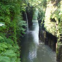JALの「どこかにマイル」で宮崎の旅〜�「高千穂峡」を歩きマイナスイオンに浸る!