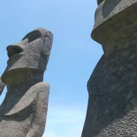 JALの「どこかにマイル」で宮崎の旅〜�「サンメッセ日南」では強烈な南国の太陽の光!