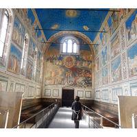スクロベニー礼拝堂  ジョットの絵 パドヴァ� イタリア旅行4