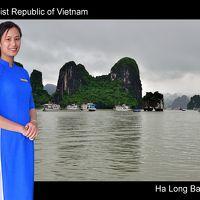 べトナム・北から南への旅 �(ハノイ・ハロン編)