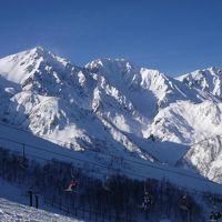 職場のスキー旅行で白馬八方尾根
