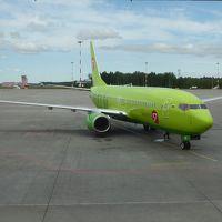 モスクワ⇔サンクトペテルブルグ、ロシア航空機エコノミー移動体験