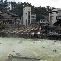 7月三連休中の草津温泉一泊二日湯畑周辺街歩き。大渋滞にたたられる
