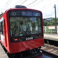2017年7月関東日帰り鉄道旅行3(箱根登山鉄道)