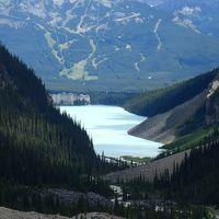 絶景の宝庫カナディアンロッキー (3) Lake Louise (Plain of Six Glaciers Trail)