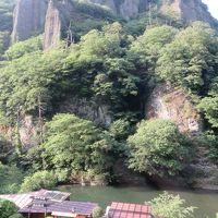 再び青春切符で、出雲市の絶景「立久恵峡」へ