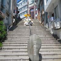 韓国 「行った所・見た所」 釜山の釜山チャンモーテルに宿泊して40階段文化館へ