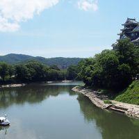 真夏の中国四国地方へ鉄道旅!(3泊4日)1日目 岡山城と倉敷と、ローカル線に乗ってマンホールカード!