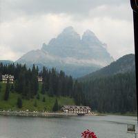 世界遺産ドロミテとアルプス展望ルート10日間の旅�トレ・チーメ・ディ・ラヴァレードハイキング