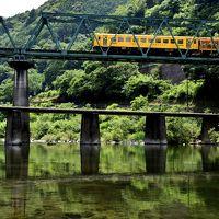 夏の四万十川の清流に架かる沈下橋を見に訪れてみた(トラブル発生編)