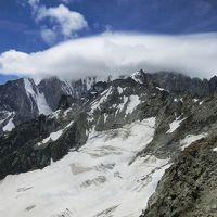 イタリア湖水地方、ドロミテ山塊、アルプス・チロルを巡る旅  � モンテビアンコ(モンブラン)観光