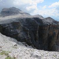 世界遺産ドロミテとアルプス展望ルート10日間の旅�ポリドイ峠展望台から見られる風景