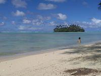 地上の楽園・ラロトンガ Day 2 ムリビーチ