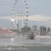 シンガポール親子旅  その1 ナショナルデー