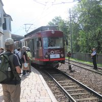 世界遺産ドロミテとアルプス展望ルート10日間の旅�レノン高原鉄道に乗る