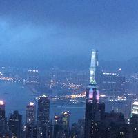 香港ディズニーランドとピンクイルカに出会う旅〜3家族合同旅行〜 1日目