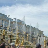 モスクワ&サンクトペテルブルク7日間・その4 〜ピョートル大帝夏の宮殿と市内観光