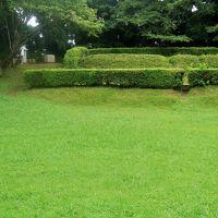 佐倉城址公園-4 本丸・天守址あたり 楼閣・石垣のない名城 ☆陸軍連隊の痕跡も