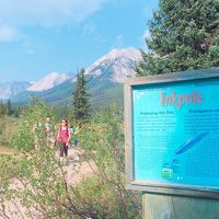 レイクオハラに憧れて ロッキーハイキングの旅�(ジョンストンキャニオン&インクポット)