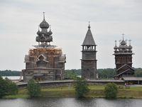 ロシア ボルガ川リバークルーズ 6 キジ島