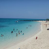 2017AUGに人生2度目の皆既日食♪とおまけの?ジャマイカ(4)モンテゴベイの町歩きとビーチ堪能編