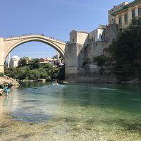 2017夏 Mostar, Bosnia and Herzegovina と少しTivat, Montenegro