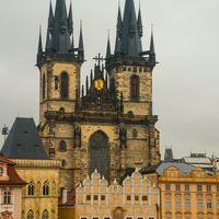 2017.8  今年もマイルで チェコ・オーストリア・ポーランド(&IST・SEL) 中世の美しい城と街並み 3)プラハ 1日目 ユダヤ人地区と旧市街
