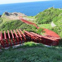 秋吉台から千畳敷から元乃隅稲成神社、最後に角島大橋へ