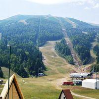Bjelasnica山のスキー場までドライブ