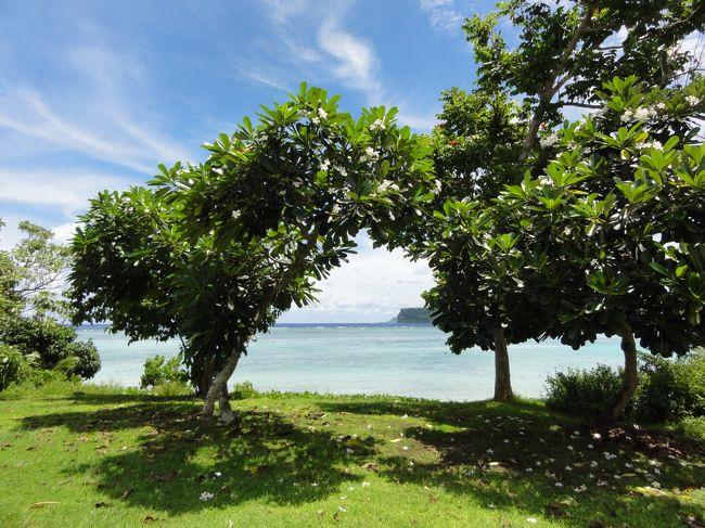 2年連続夏休みグアム旅行。<br />晴れ家族なのに、思い切り雨季の気候。雨が多かったけれど、海にプールにグルメ・・・楽しめました。