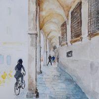 ポルティコの街 パドヴァ � イタリア旅行 4