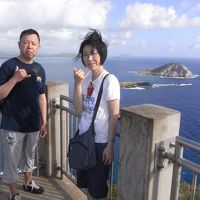 よしくんとちぼの7回目のハワイ☆マカプウ岬トレッキング♪