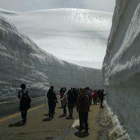 GWに東京から金沢前泊で参加した金沢発着立山黒部アルペンルート通り抜けツアー