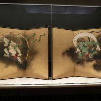 国立博物館で風神雷神図屏風を見に(2017年7月)