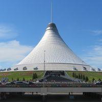 カザフスタン 「行った所・見た所」 アスタナのハーンシャティールと宿泊したキングホテルアスタナ