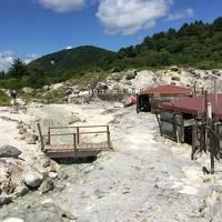 初めての天然岩盤浴、新玉川温泉が好き。