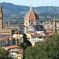 フィレンツェ(ピサ・チンクエテッレ含む)/ミラノ世界遺産巡り+フランクフルト